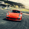 Porsche GT3RS on Track