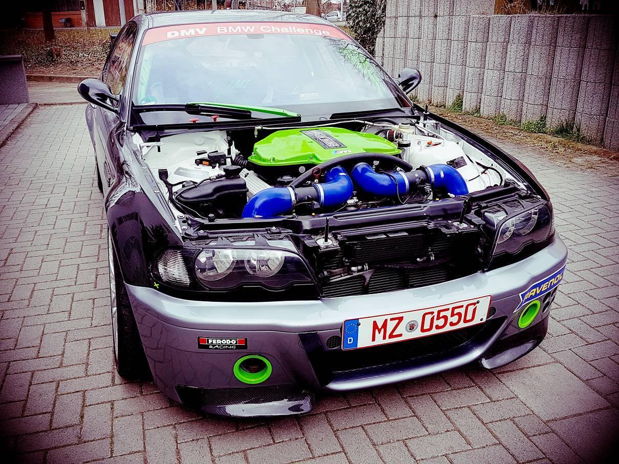 Bmw E46 M3 With 5 0l M5 V8 Engine Swap Racetool Autos
