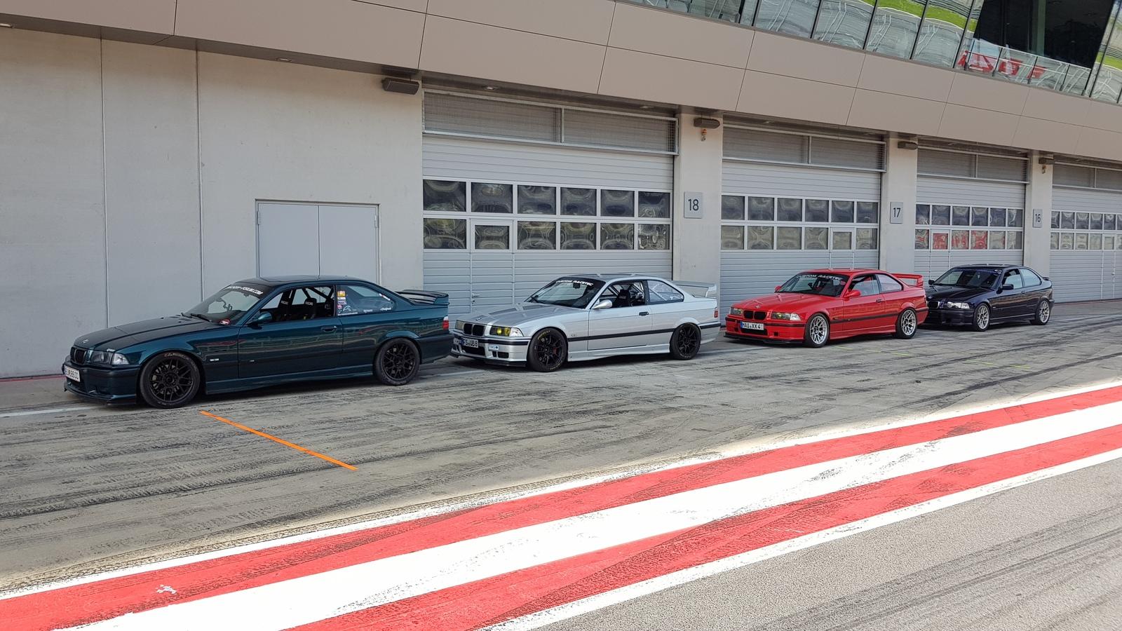 E36 Crew @ZK-Trackdays Redbullring 10.6.19
